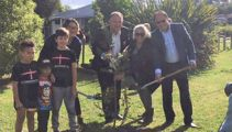 First trees planted in Govt's One Billion plan
