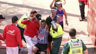 Running on empty: Dozens collapse at London Marathon