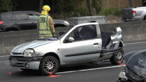 Motorway madness: Driver charged after horror crash