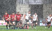 The Crusaders played through treacherous conditions on Saturday. (Photo / Getty)