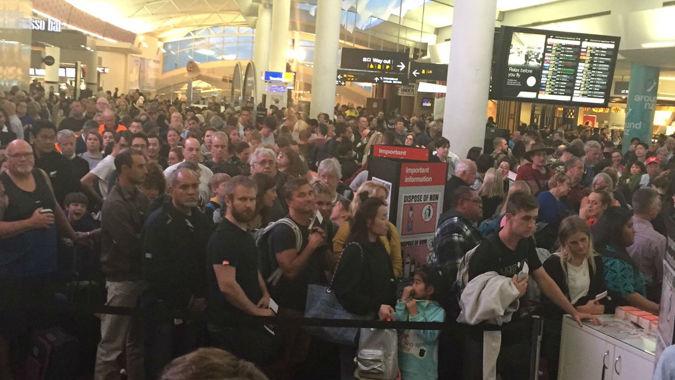 Delays at Auckland Airport over wayward passenger