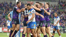 Blown away! Storm bring Warriors back down to earth