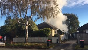 House Fire in Riccarton