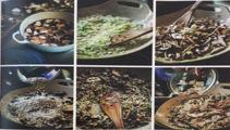 Mike van de Elzen: Leek risotto with mushrooms