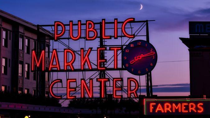 Pike Place Market (Image / Mike Yardley)
