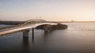 Robertson wants second harbour crossing brought forward, considers scrapping cycle bridge