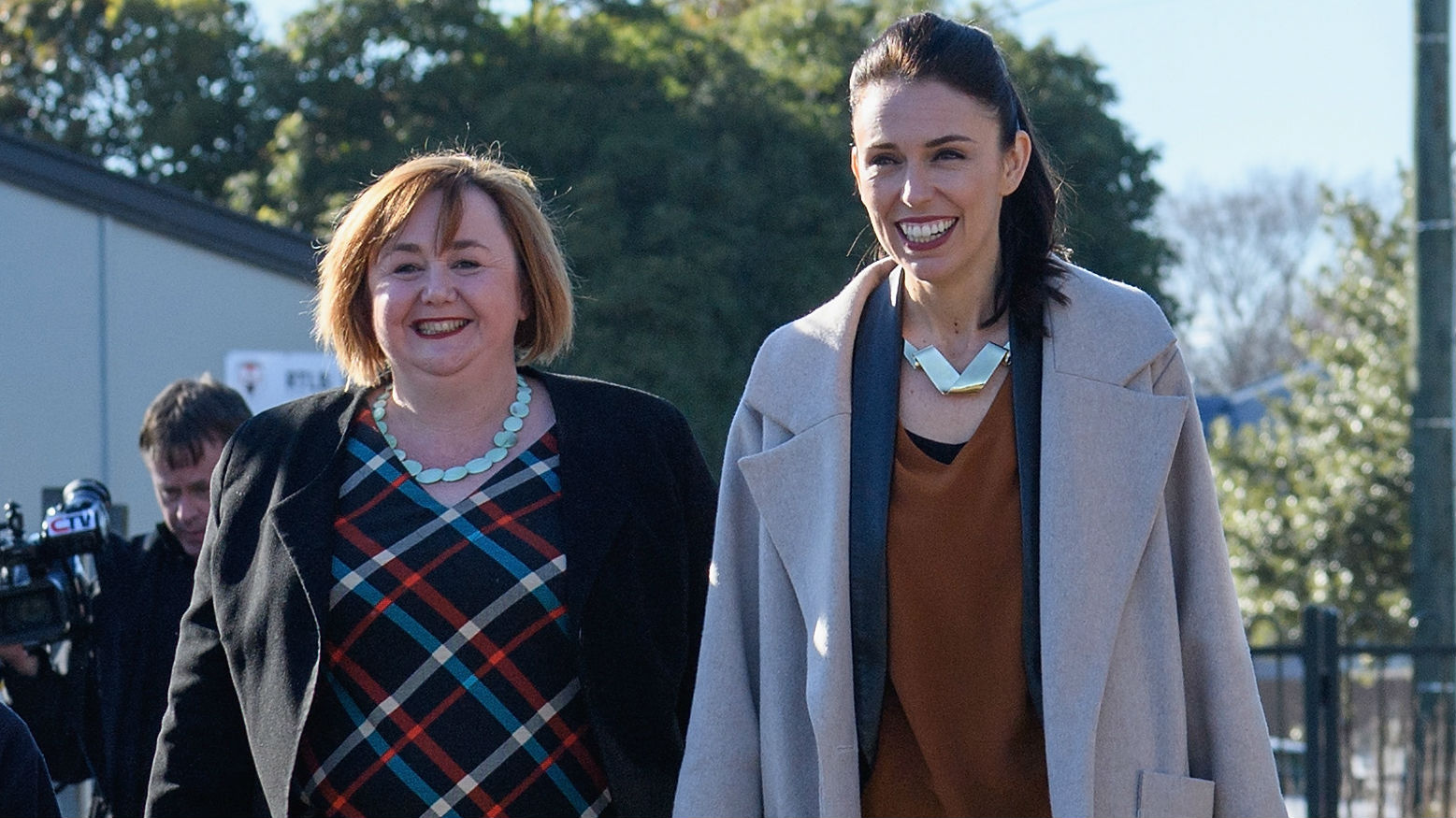 Prime Minister Jacinda Ardern and Energy Minister Megan Woods are running the risk of coming across as hyopocrites. (Photo / NZ Herald)