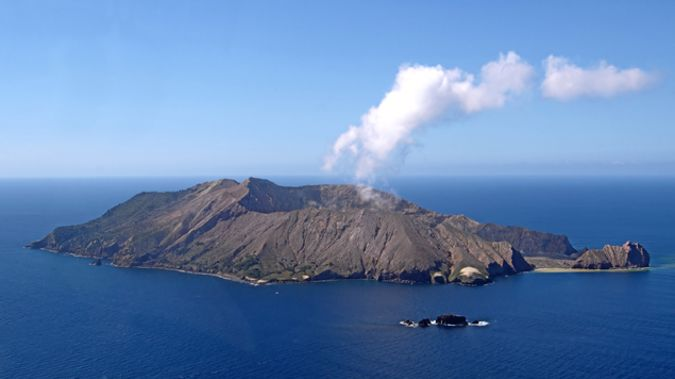 The Brothers volcano is huge - it's about three times the size of White Island. (Photo/ Getty)