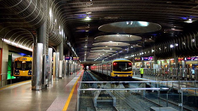 Britomart station in Auckland's CBD is closed this morning. (Photo: Getty Images)
