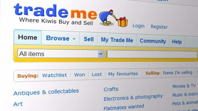 Trade Me has been given the Privacy Trust Mark. (Photo: File)