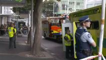 Five taken to hospital after gas leak in Auckland building