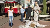 Statue Man's dark past: 'I'm keeping out of trouble'