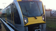 Auckland train stalled on tracks as driver 'walks away'