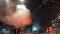 Blaze erupts at Hamilton strip club