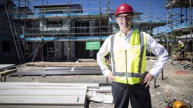 Housing Minister Phil Twyford likely won't get much help from the budget tomorrow. (Photo / NZ Herald)
