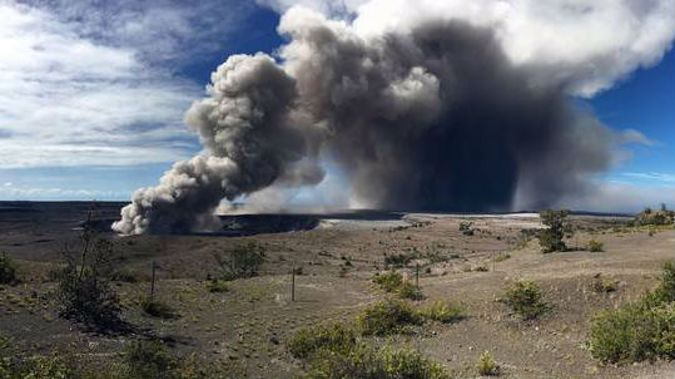 Officials on the Big Island of Hawaii say some vents formed by Kilauea volcano are releasing such high levels of sulfur dioxide that the gas poses an immediate danger to anyone nearby. (Photo / AP)