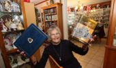 Whangārei's biggest royal fan, Bev Long, surrounded by her collections. (Photo: NZ Herald)