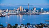 Auckland city view from Northcote Head (Photo \ Getty Images)