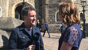 Lucy Hockings speaks with Mike Hosking. (Photo \ NZME)