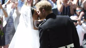 Prince Harry and Meghan Markle wed today at St George's Chapel at Windsor Castle.