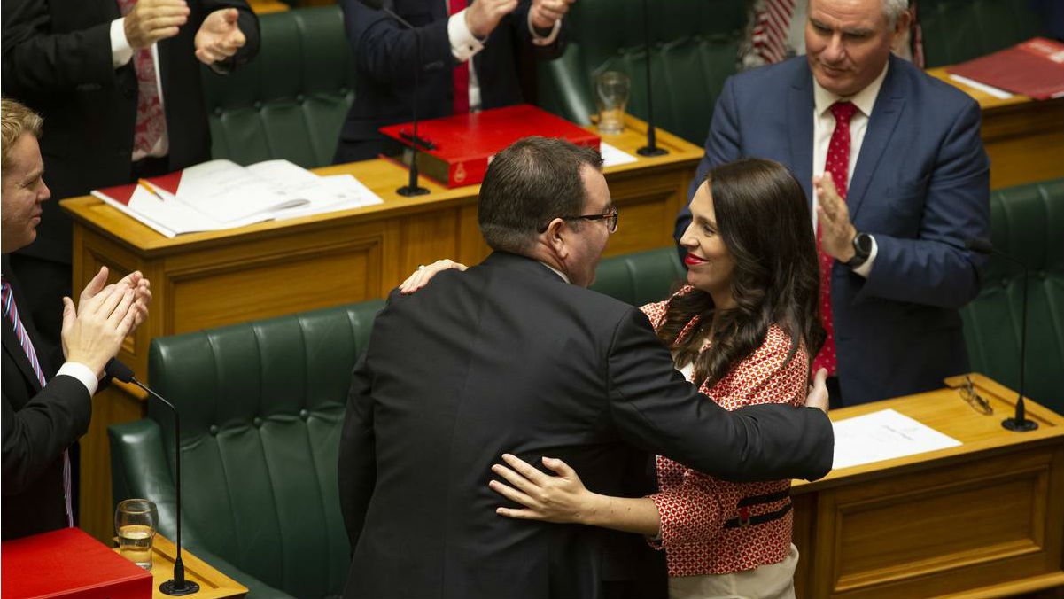 Grant Robertson and Jacinda Ardern have delivered a budget that is not crazy - for once. (Photo / NZ Herald)