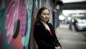 Marama Davidson says it is wrong for the majority to dcide things for the minority. (Photo / NZ Herald)