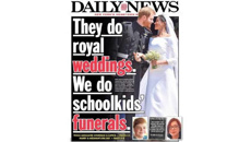 Royal wedding front page proves divisive