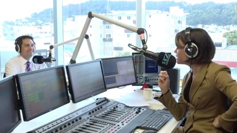 Live: Simon Bridges in studio with Heather Du Plessis-Allan