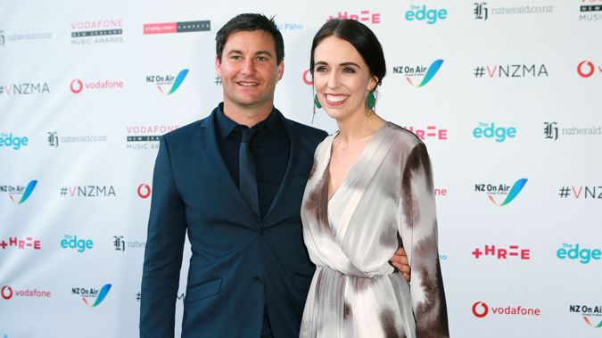 Jacinda Ardern attended the Vodafone New Zealand Music Awards last year. (Photo / NZ Herald)
