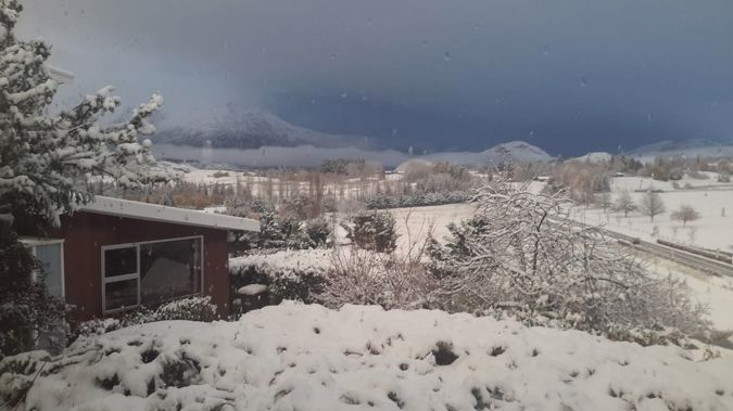 New Zealand's woken up to a bitterly cold day with temperatures well into the negatives