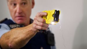 Police are under fire over tasering an Auckland man in the back. (Photo / NZME)