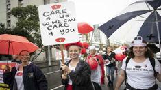 Cee Payne: Nurses want pay parity with teachers