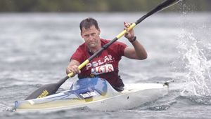 Scott Donaldson departed Coffs Harbour, Australia on May 2 for his attempt at Kayaking the Tasman solo. (Photo / Ben Fraser)
