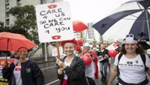 Nurses confirm strike - pending one last pay offer