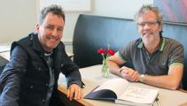 Peter Gordon talks with Mike Hosking in London