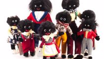 Shop owner defends stocking golliwogs