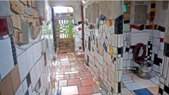 Known for his iconic KawaKawa public toilets, Hundertwasser's final building was was to create an art centre in Whangarei (Photo / NZ Herald)