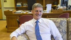 Bill English has been made a knight in this year's Queen's Birthday Honours. Photo / File)