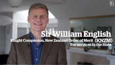 2018 Queen's Birthday Honours: Sir William English joins his mate Sir John Key as a knight