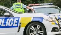Truck leaking fuel on Auckland motorway