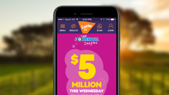 Push notifications suggesting the phone's camera have been activated have alarmed an app developer. (Photo/Lotto NZ)