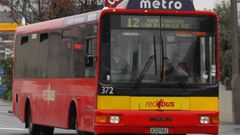 The dated Metro Red Bus will updated next year on routes 29 between central city and the airport  as the Electric bus service is introduced. (Photo/ NZH)
