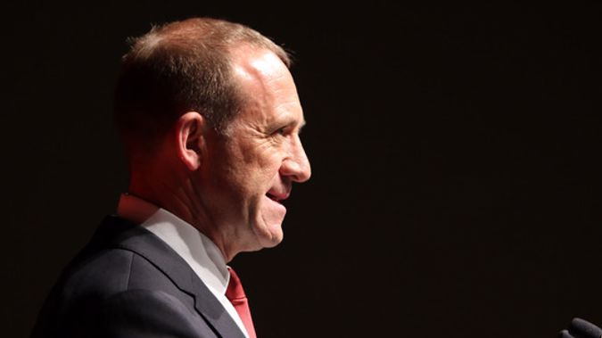 Andrew Little says he doesn't believe that New Zealand First will vote to oppose the three strikes legislation in its caucus today. (Photo / New Zealand Herald)