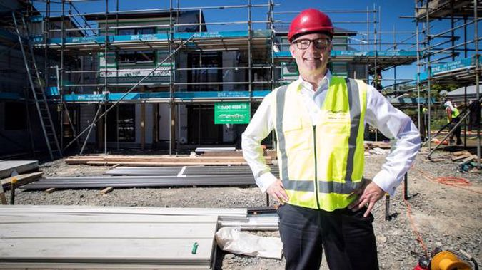 Housing Minister Phil Twyford is pleased with the level of interest in KiwiBuild from developers. Photo / NZ Herald