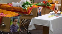 Christchurch funeral service for Tej Kafle ,Tika Kafle and Pream Kafle, who died in a fire at their home in Waimate in August, 2015. (Photo / Martin Hunter)