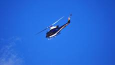 Five hospitalised after chopper crash