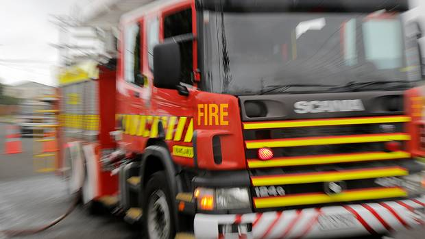 Firefighters are handling a blaze in Greymouth which was discovered this morning. (Photo / File)