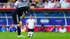 Lionel Messi of Argentina. (Photo / Getty)