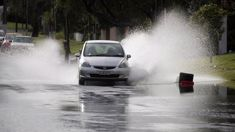 Wild start to the week as rain batters north