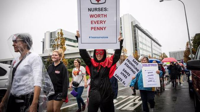 The vote is a response to a third pay offer from DHBs. Photo / Greg Bowker
